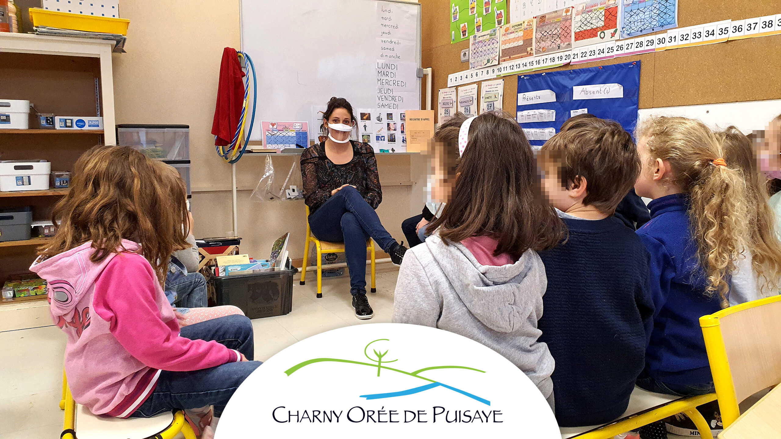Masque inclusif pour les enseignants de la Commune de Charny Orée de Puisaye