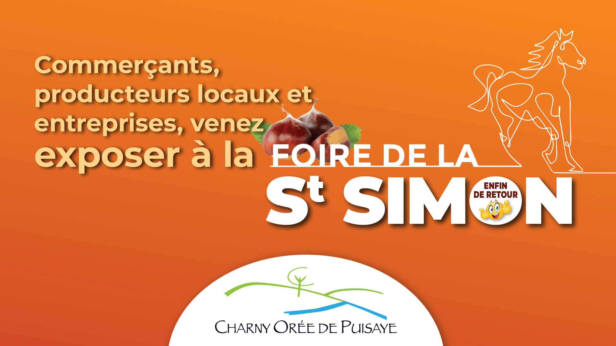 St Simon Foire exposants Charny Orée de Puisaye