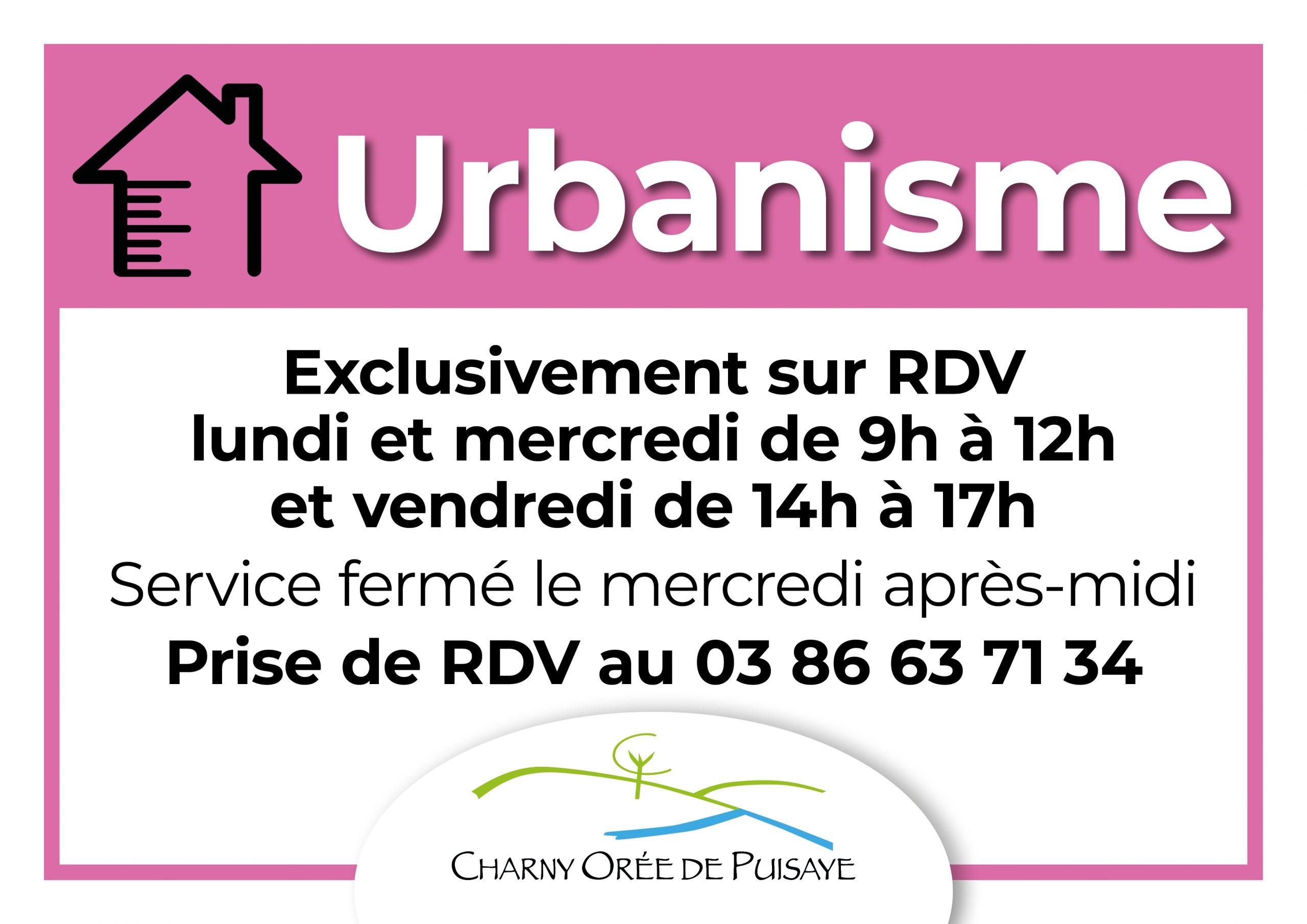 Panneau horaires Urbanisme CCOP