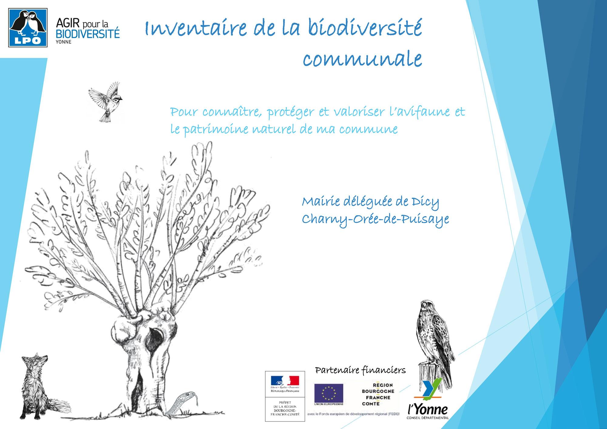 LPO Inventaire naturaliste de Dicy