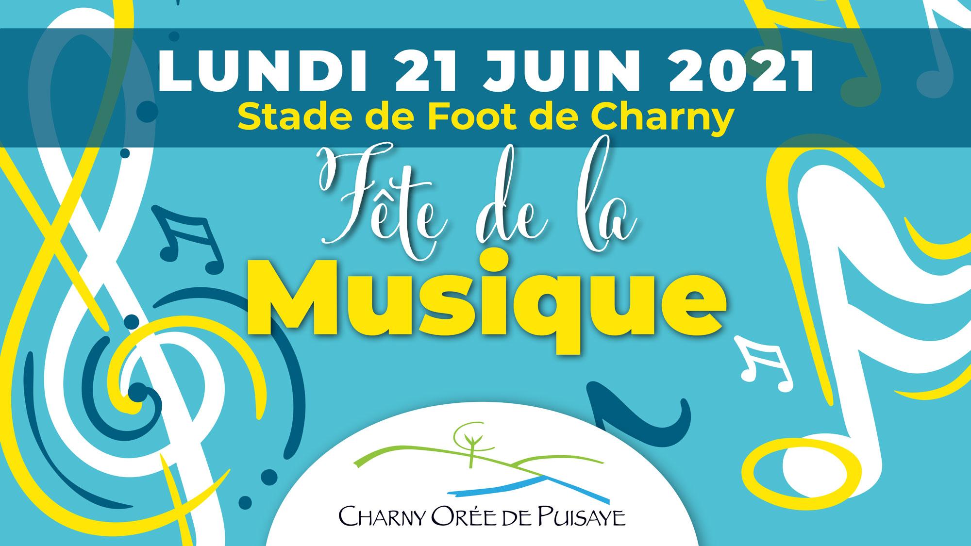 Fête de la musique 2021 Charny Orée de puisaye